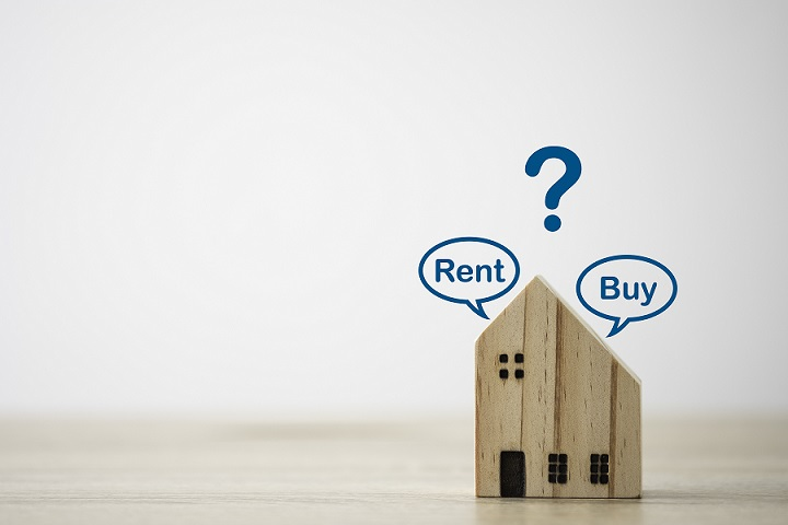 Should you rent or buy, and why?