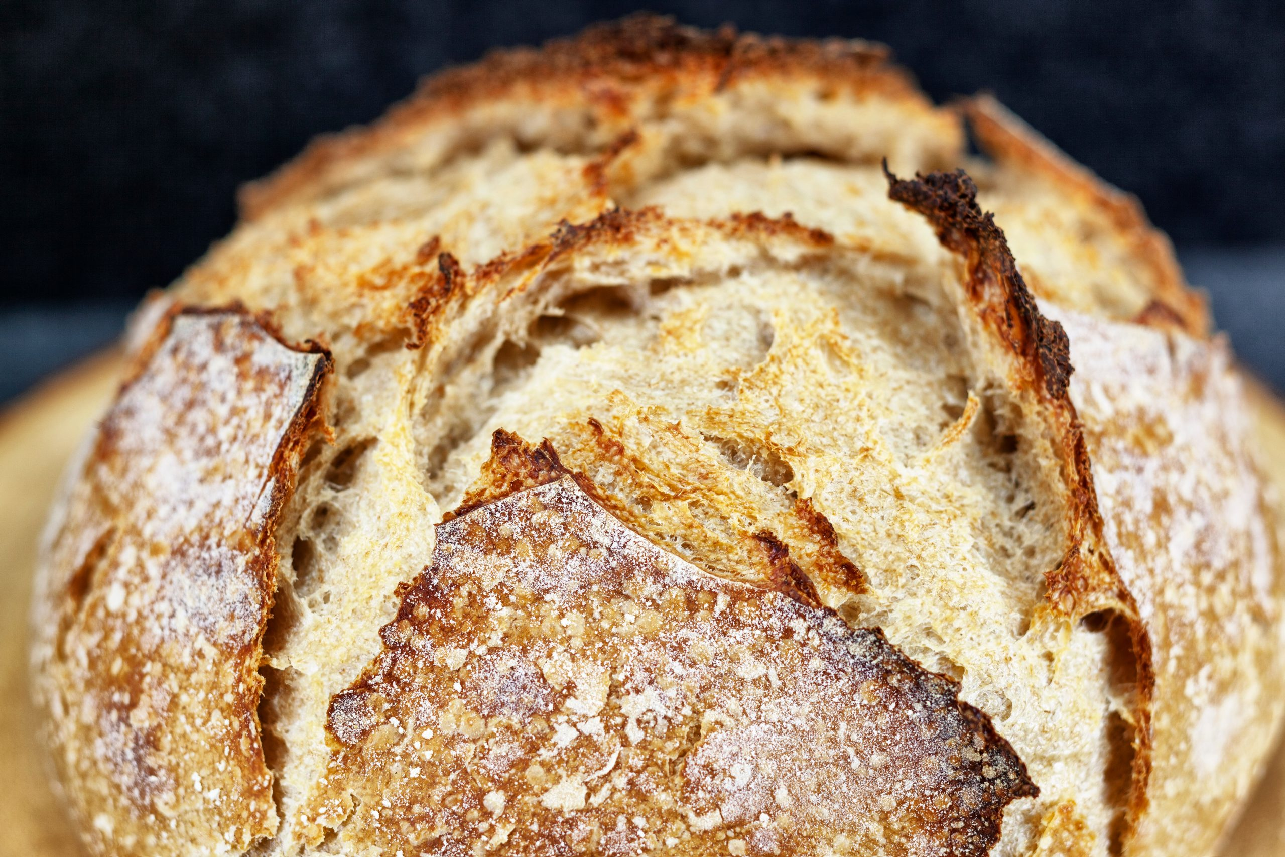 Great time to try: baking sourdough bread