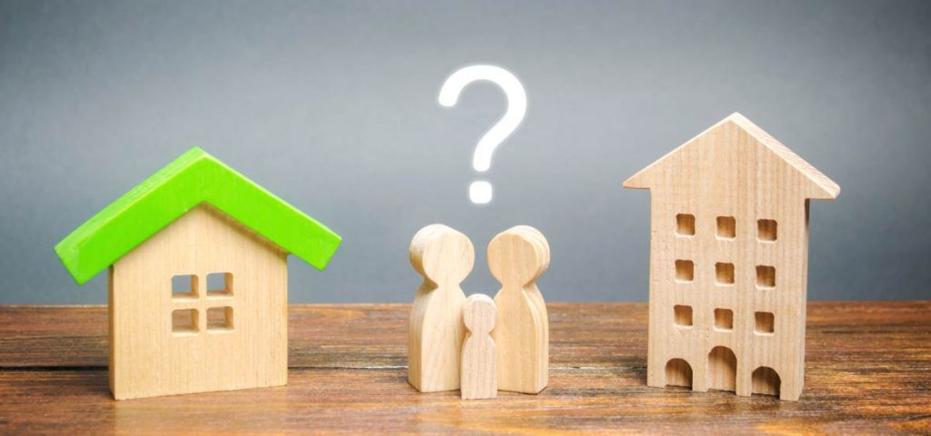 Apartment or house: what's best for you?