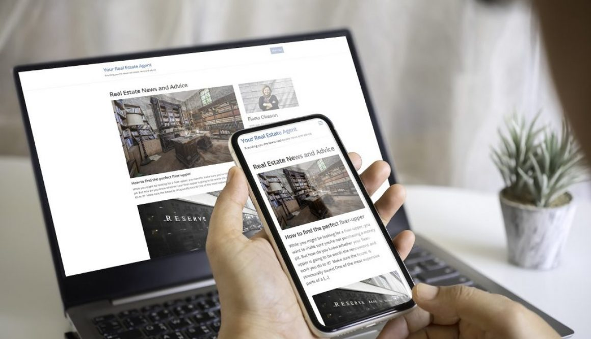 Branded Real Estate Voice Website